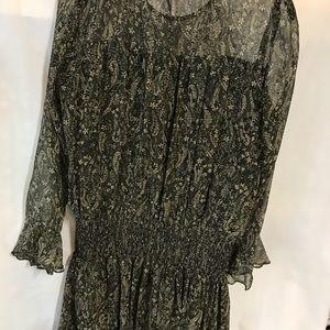Shoshanna chiffon dress